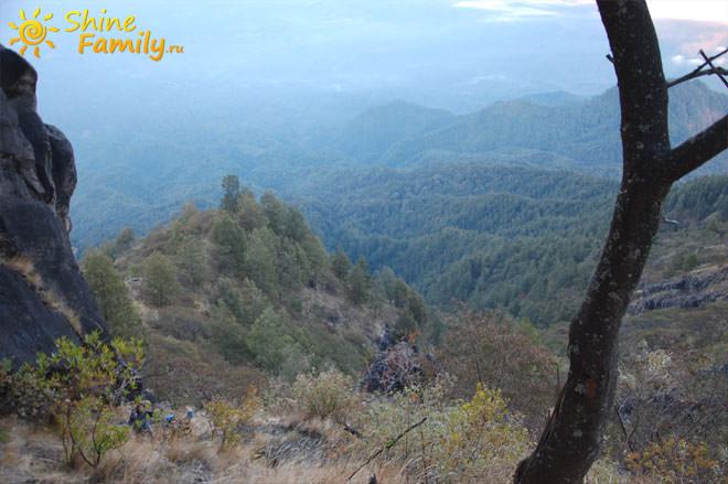Подъем на гору Агунг