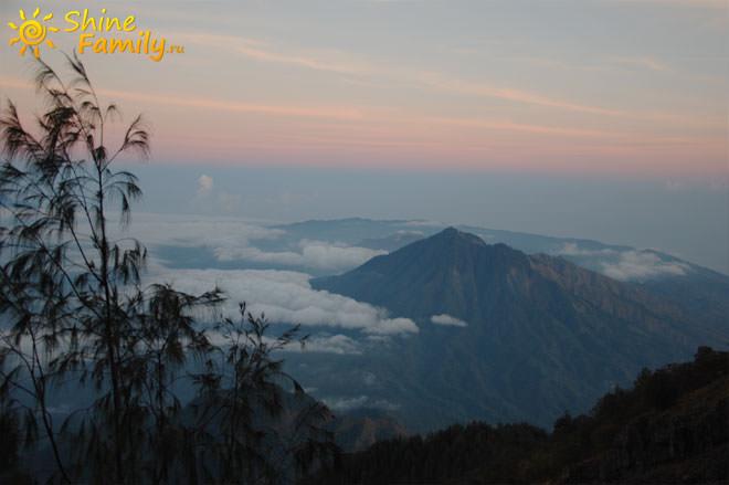 Гора Батур, вид с Агунга