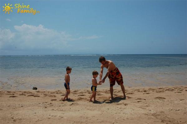 Исследуем местный песочек