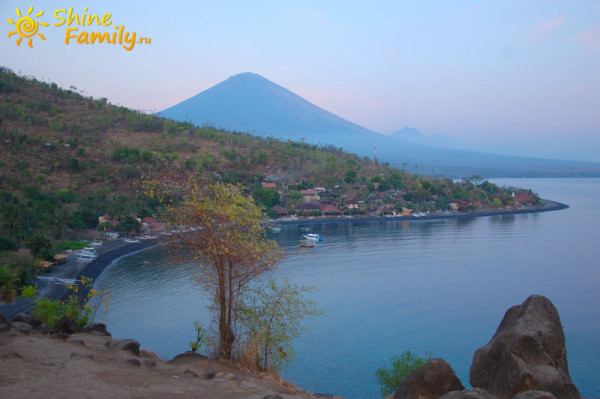 три великих горы Бали: Агунг, Батур, Абанг