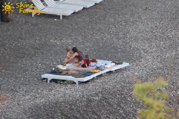 ночевали в Амеде на пляже под открытым небом