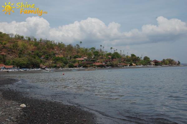 Красивая рыбацкая деревня Бали - Амед